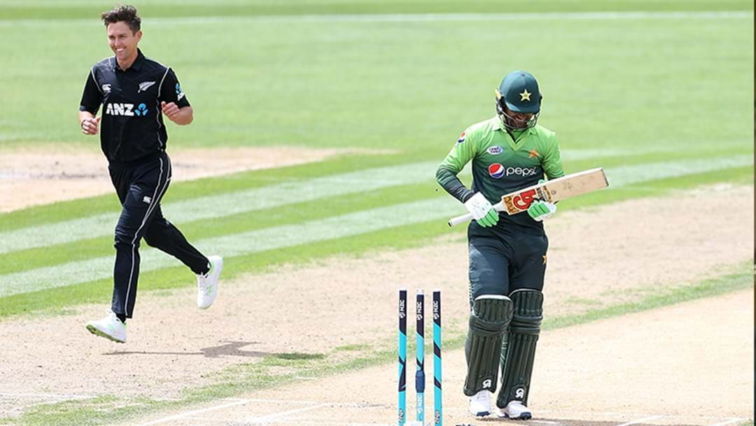 Article heading image for Pakistan Just Made Their Third Lowest Score In ODI Cricket Against New Zealand