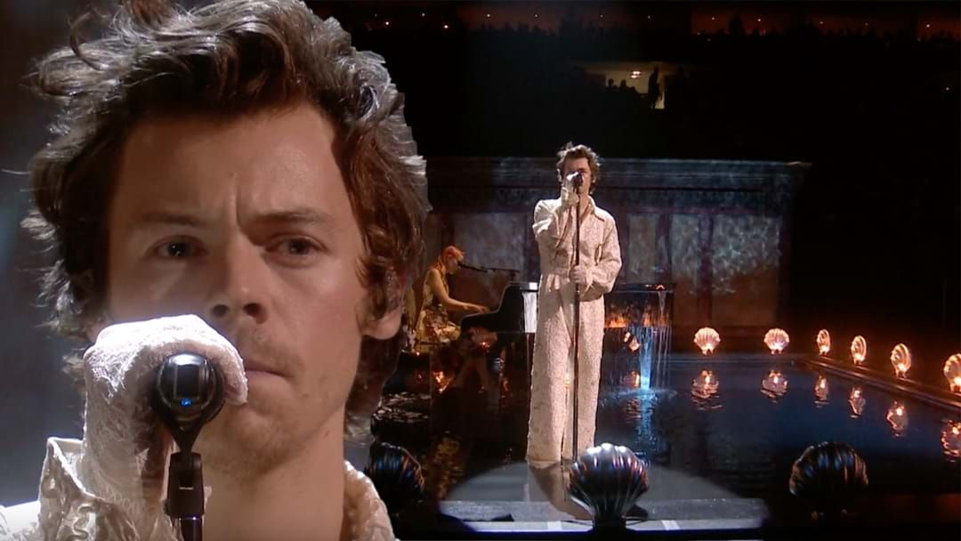 Article heading image for Harry Styles Had The Crowd In Tears With His BRIT Awards Performance