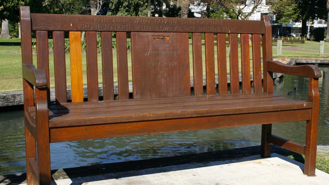 Article heading image for How Perth's Notting Hill Bench Got Found Out To Be A Fake?