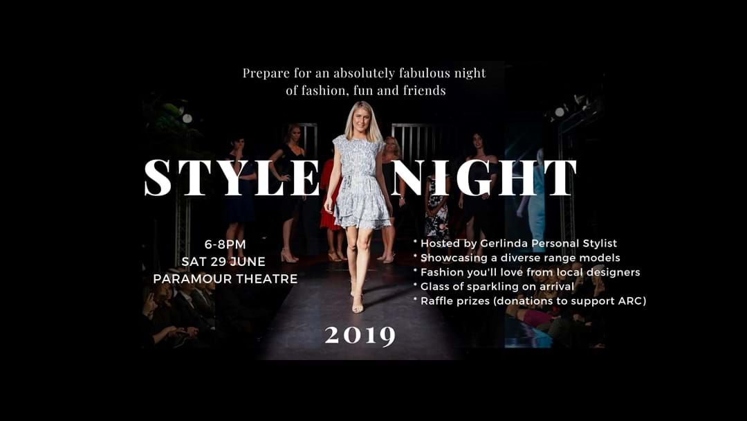 Article heading image for Style Night 2019 is here, so grab your crew and get to Paramour Theatre tonight.