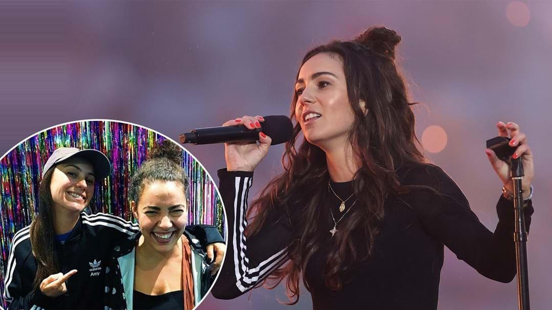 Article heading image for Amy Shark Reveals What Almost Cancelled Her Grand Final Performance
