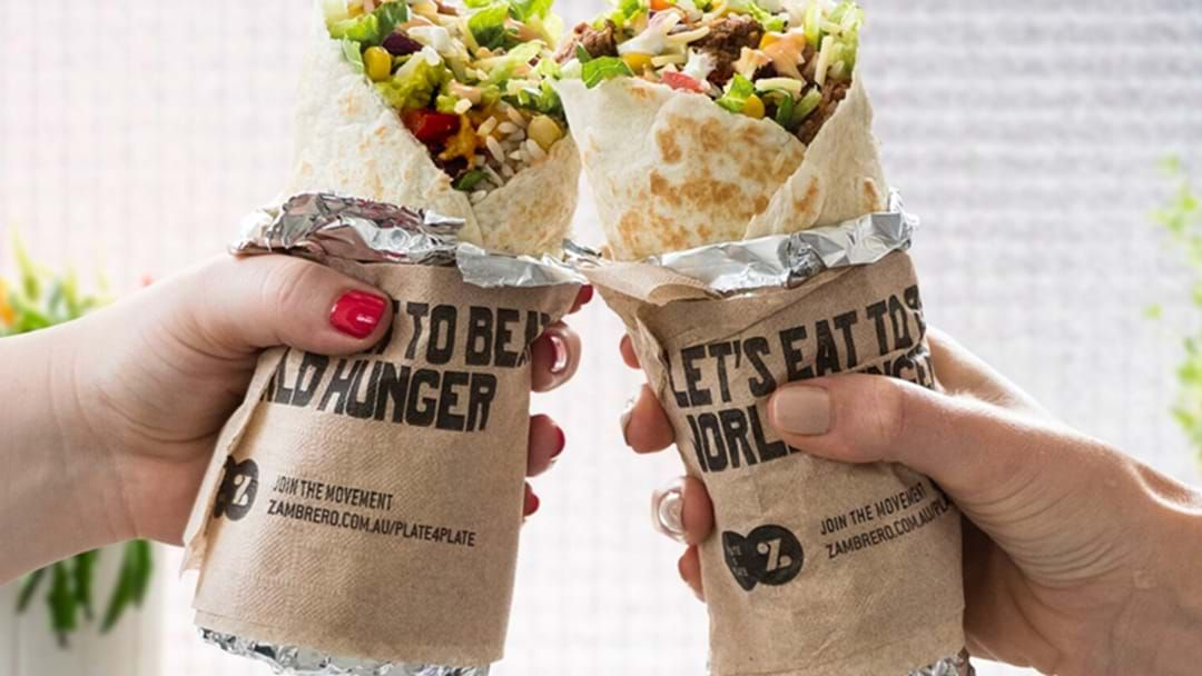 Article heading image for Bloody Hell... Free Burritos Are Being Handed Out All Over Oz On Wednesday