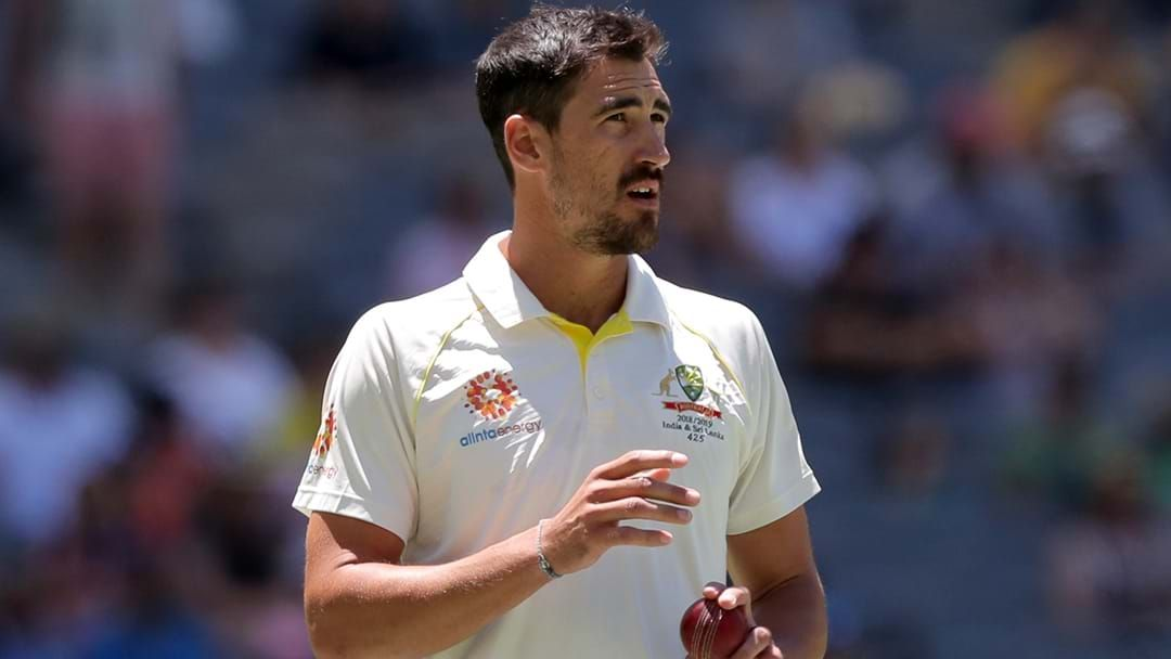 Article heading image for Mitchell Starc Sheds Some Light On How Steve Smith Is Recovering