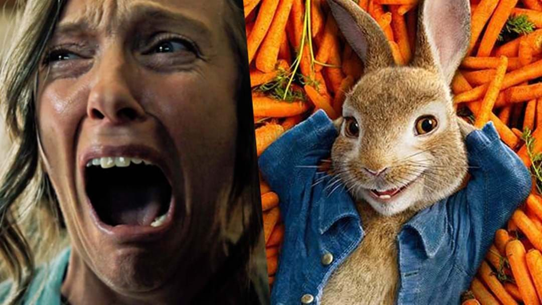 Article heading image for Poor Kiddos: Perth Cinema Shows Horror Movie Trailer Before 'Peter Rabbit'