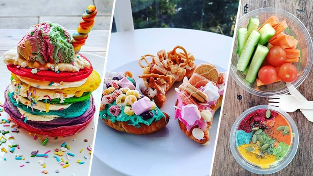 Article heading image for PSA: This Rainbow Themed Cafe Is Now Serving 'All-You-Can-Eat' Waffles