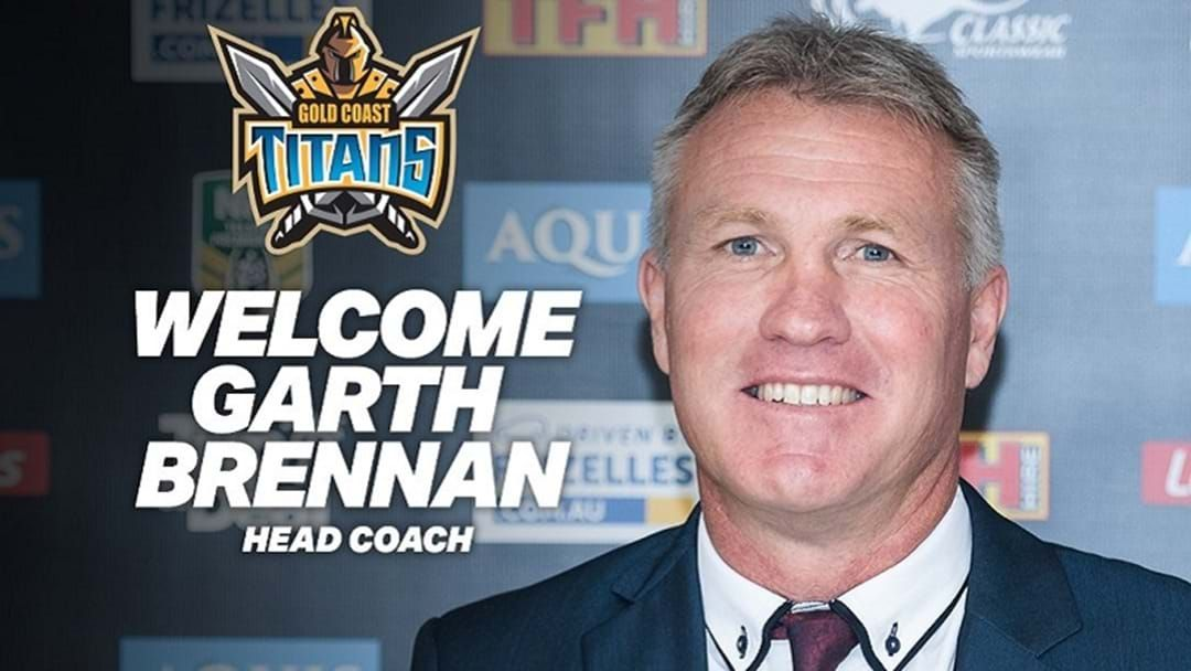 Article heading image for OFFICIAL: Garth Brennan new Titans coach