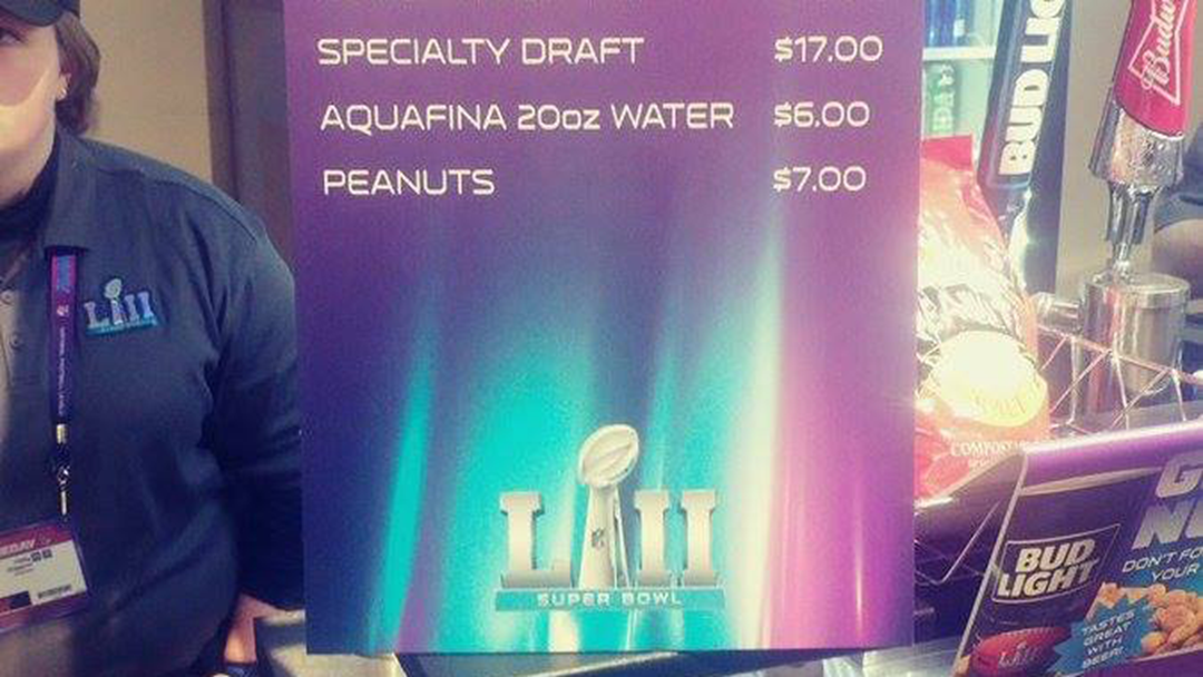 Article heading image for The Cost Of A Tinnie At The Super Bowl Is Superbly Cooked