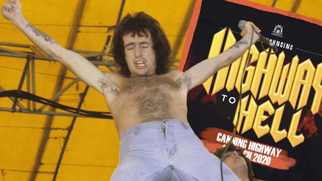 Article heading image for Perth's Canning Highway To Close For A Day To Honour The Late, Great Bon Scott