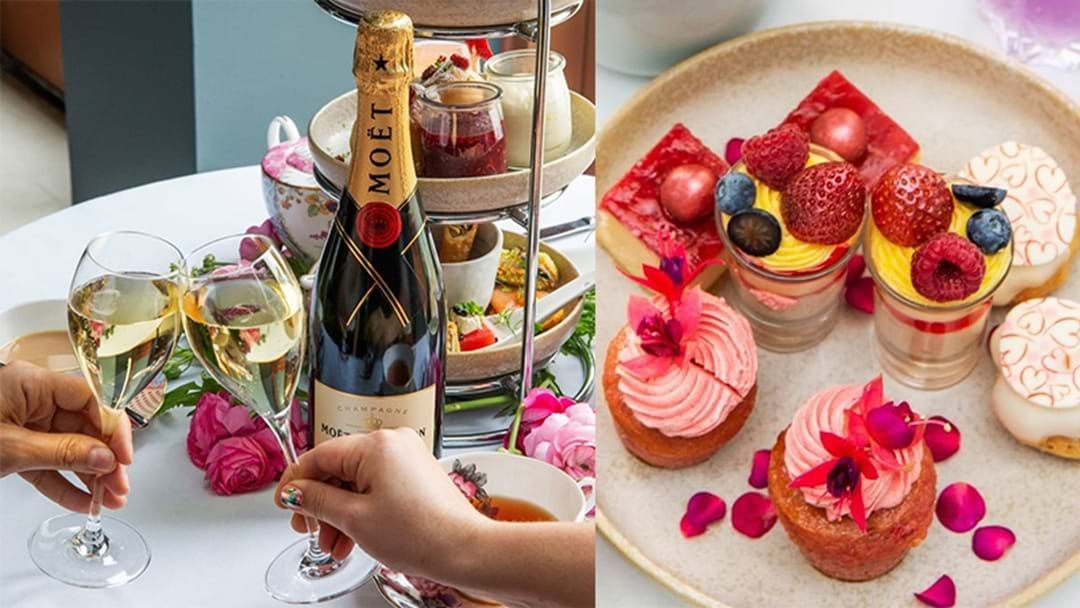 Article heading image for Drink Up, Bottomless Boozy High Tea Is Back On At This Epic Venue