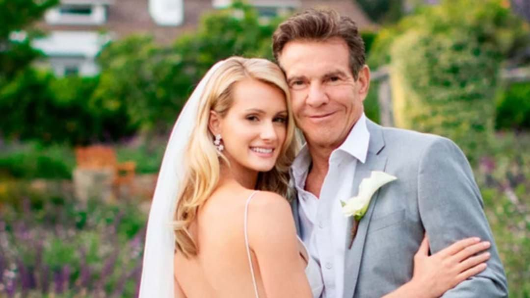 Article heading image for Dennis Quaid Just Got Married And Shockingly It Wasn't To You