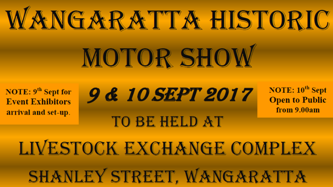 Article heading image for Wangaratta Historic Motor Show