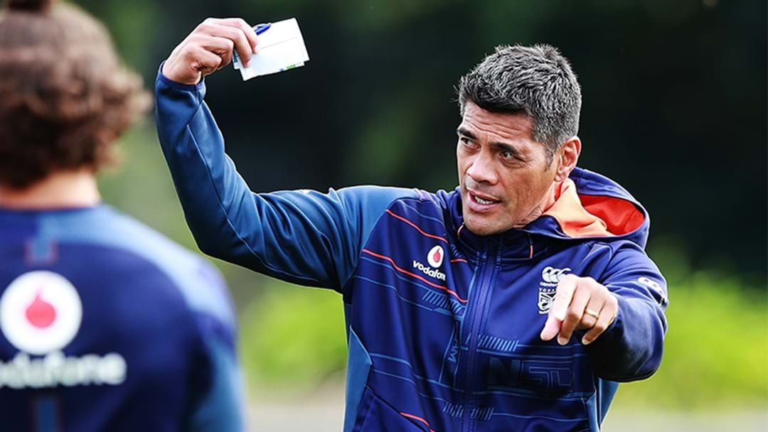 Article heading image for New Zealand Warriors CEO Cameron George Explains The Timing Of Stephen Kearney's Shock Axing