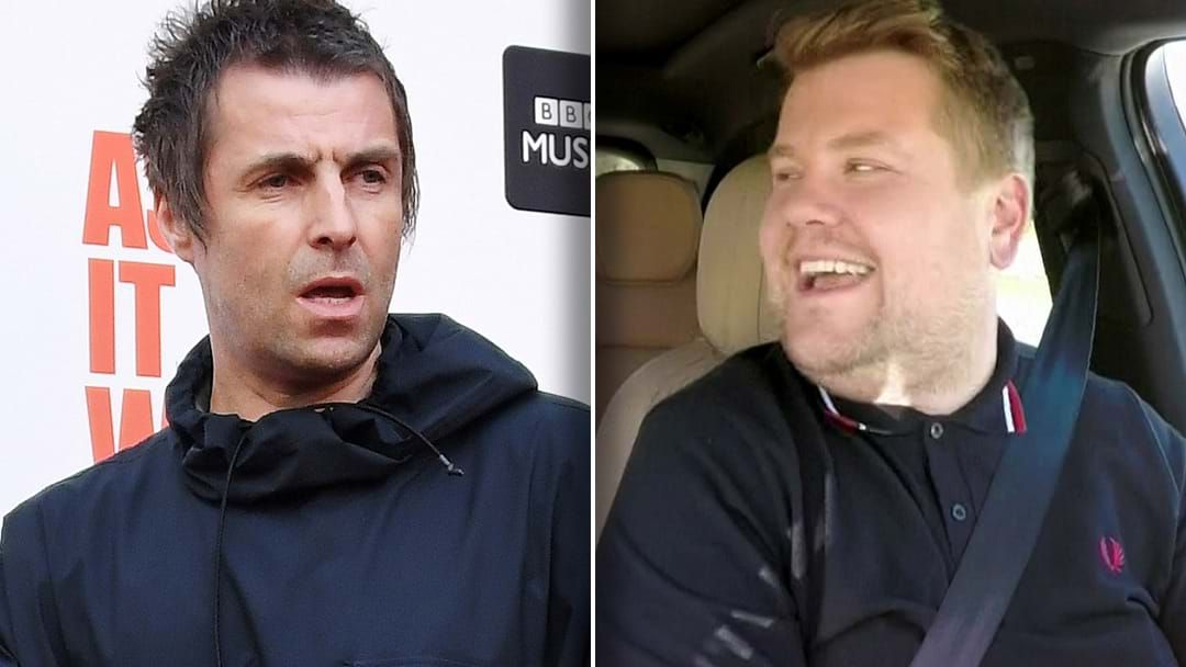 "Article heading image for ""James Corden Is A Knobhead"" Liam Gallagher Explains Why He Will Never Do 'Carpool Karoake'"