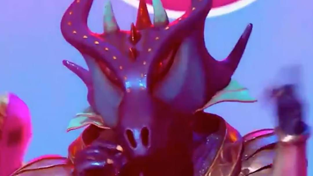 Article heading image for The Masked Singer's Dragon Celebrity Was Revealed Last Night