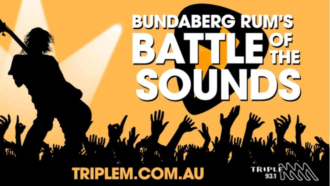 Article heading image for Triple M Bundy Want YOU To Perform At Spirit Of Bundaberg's Battle Of The Sounds!