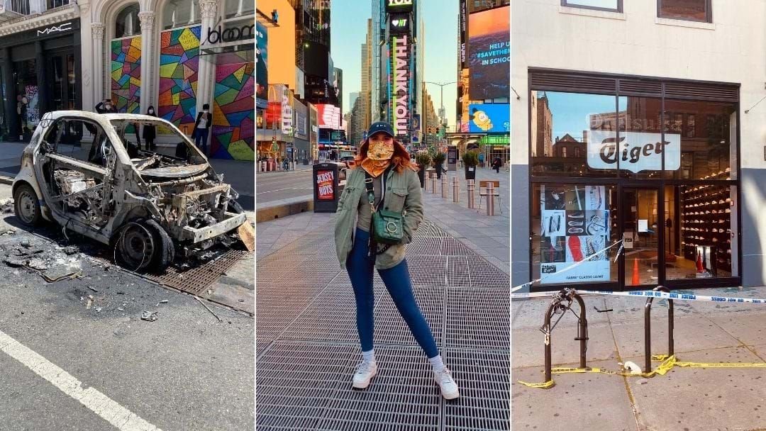 Article heading image for Aussie Caught In NYC Riots Shares Her Thoughts On The Black Lives Matter Protests