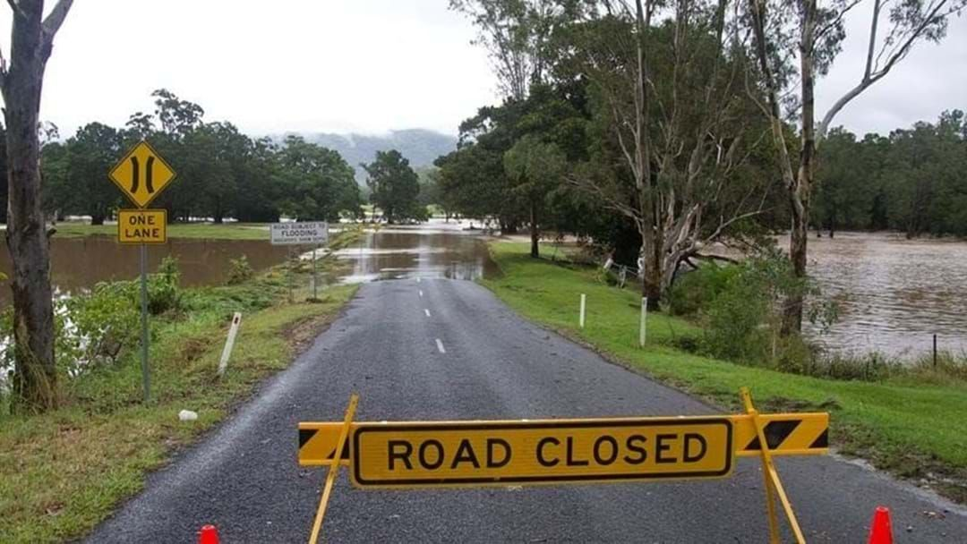 Article heading image for Flooded roads in Mackay and the Whitsundays