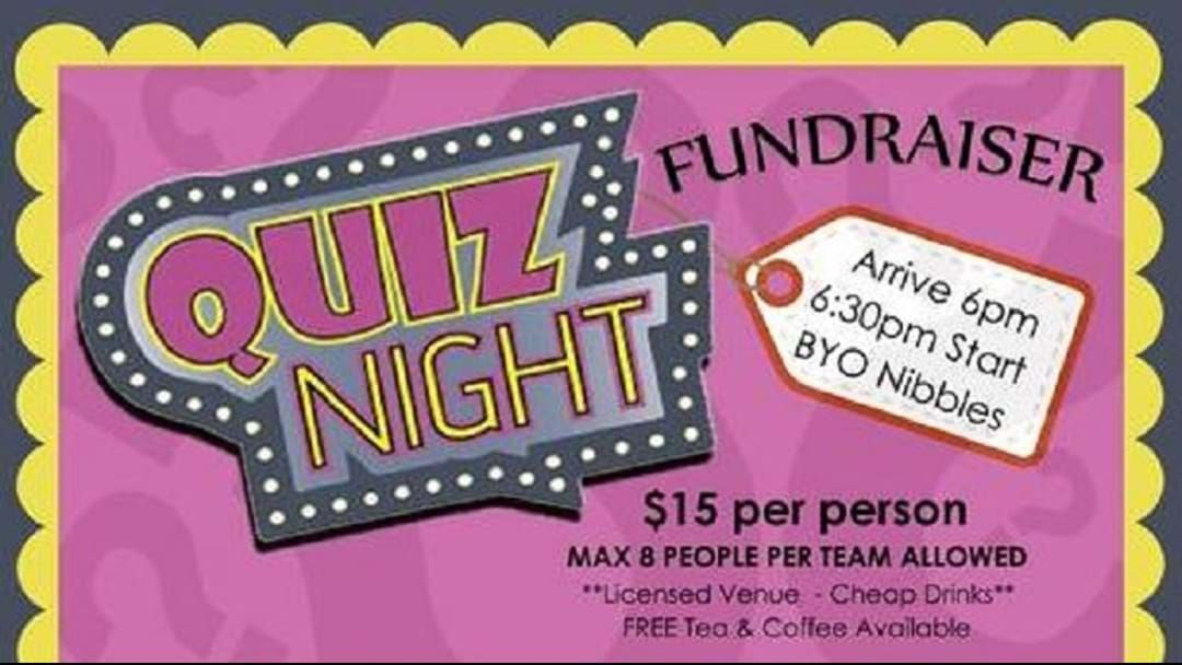 Article heading image for Quiz Night Fundraiser - help send Makaila to the National Drarwifsm Conference