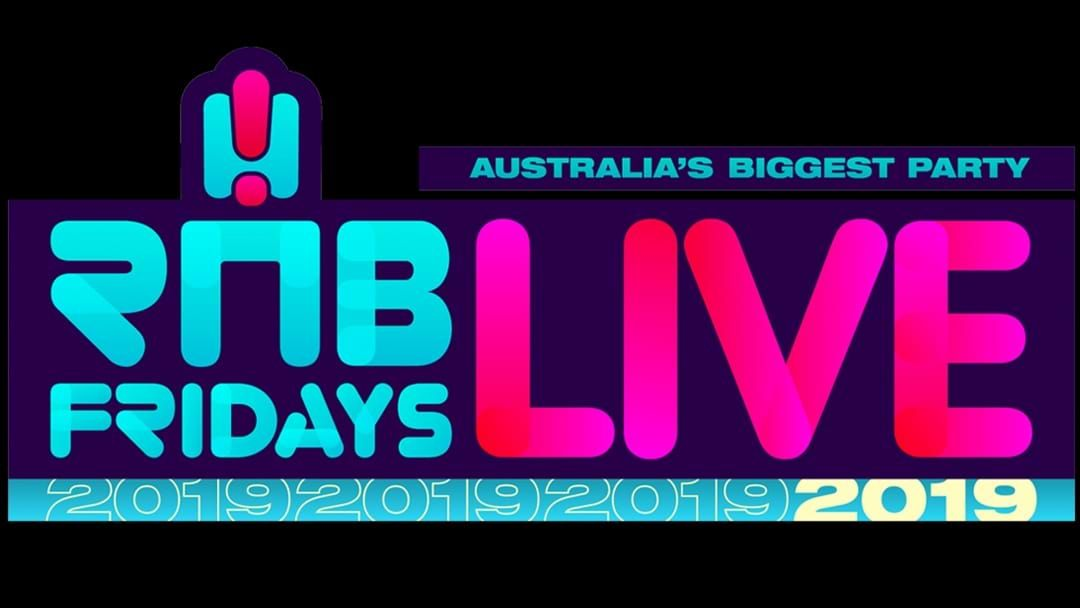 RNB Fridays Live Ups the Ante With 2019 Line-Up