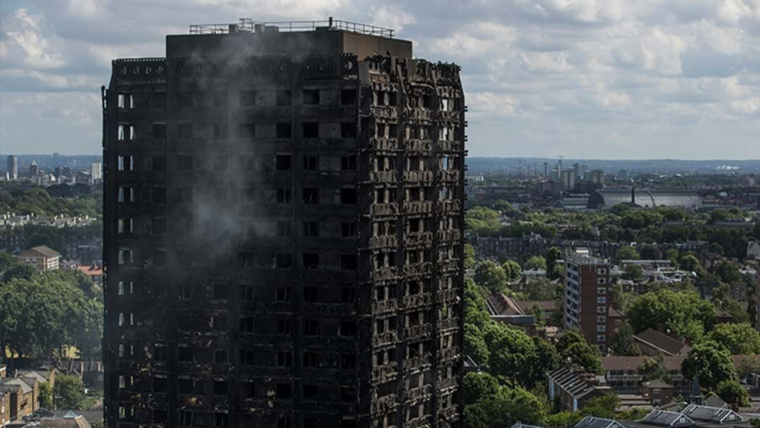 Article heading image for Police Confirm Death Toll From Grenfell Tower Fire Has Risen