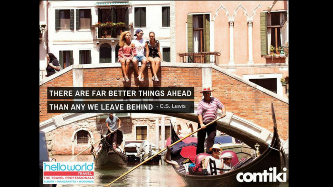 Article heading image for Helloworld Travel Albury, Wodonga & Wangaratta's amazing Contiki deals!