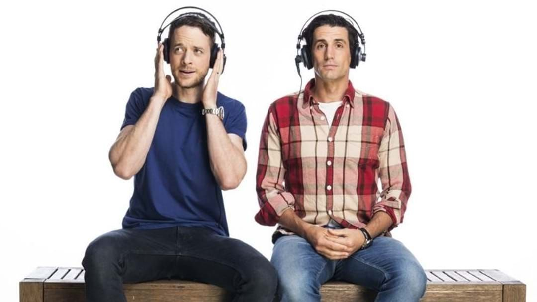 Article heading image for Andy Lee Discusses Hamish & Andy's New Podcast & It Gets A Little Awkward