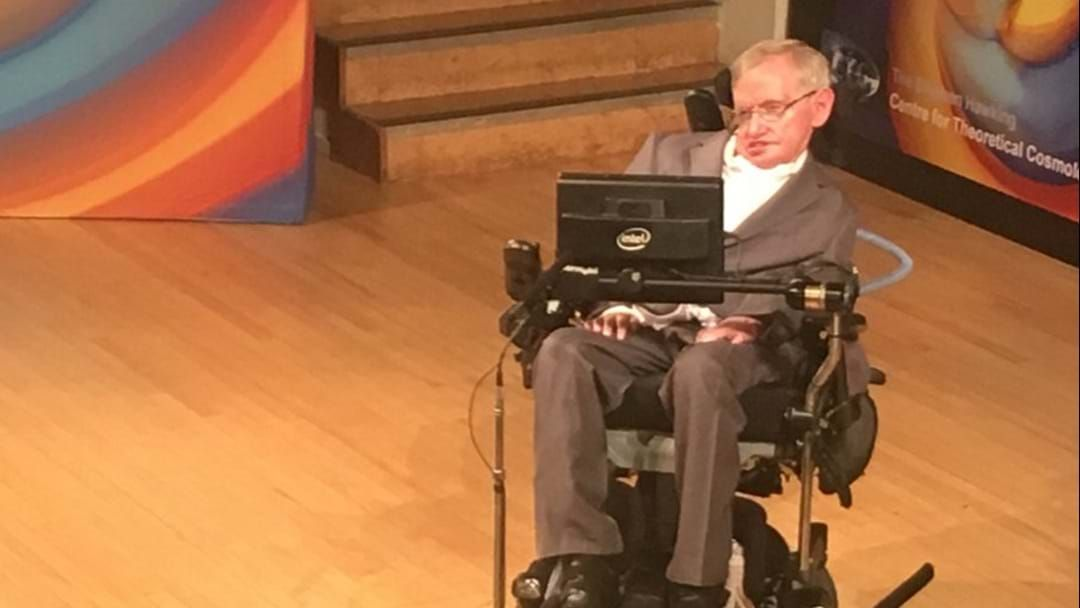 Article heading image for Stephen Hawking Fears Trump Climate Stance 'Could Push Earth Over The Brink'