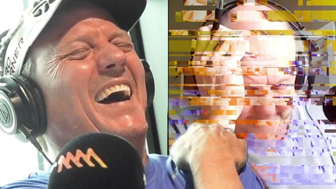 Article heading image for JB Loses It As Billy's Connection Drops Out After One Of His Worst Jokes Yet