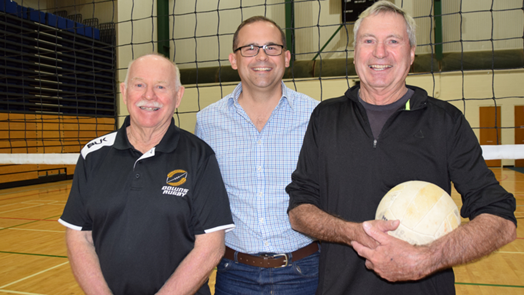 Article heading image for Retired Military Veterans Find Friendship and Stay Active with Social Volleyball