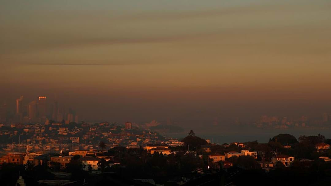 Article heading image for Sydneysiders Urged To Take Care As Smokey Conditions Sweep The City