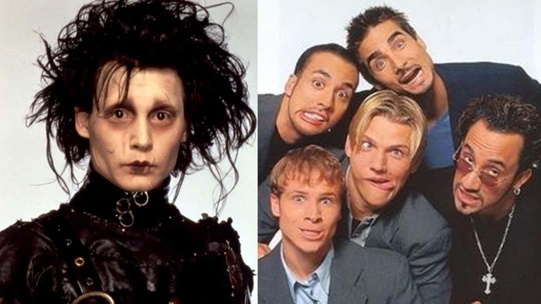 Article heading image for A Backstreet Boy Was In Edward Scissorhands And We Had No Idea