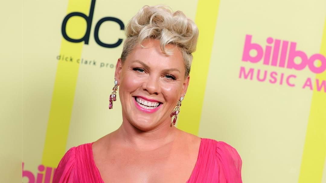 Article heading image for P!nk Arrives On The Billboards Red Carpet With The Two Cutest Dates, Her Kids!