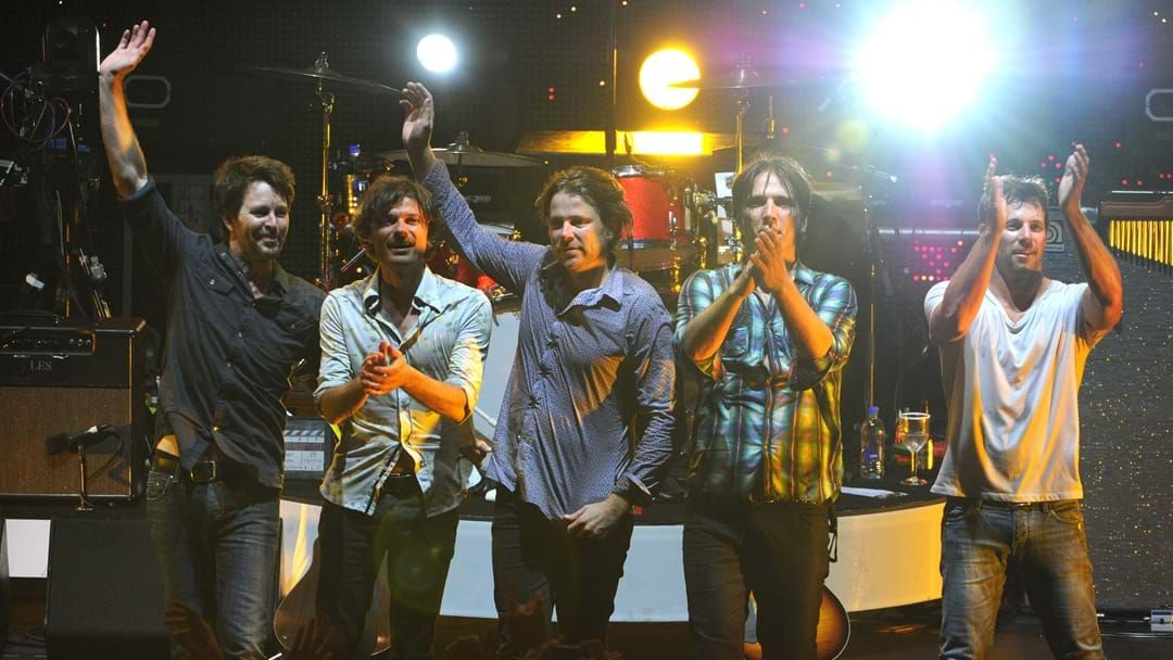 Article heading image for Powderfinger Reunite At Triple M To Celebrate The 20th Anniversary Of Internationalist