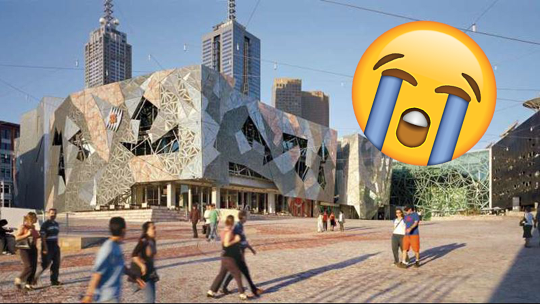 Article heading image for 7,000 People Are Planning To Publicly Cry In Federation Square & We're Not Sure Why