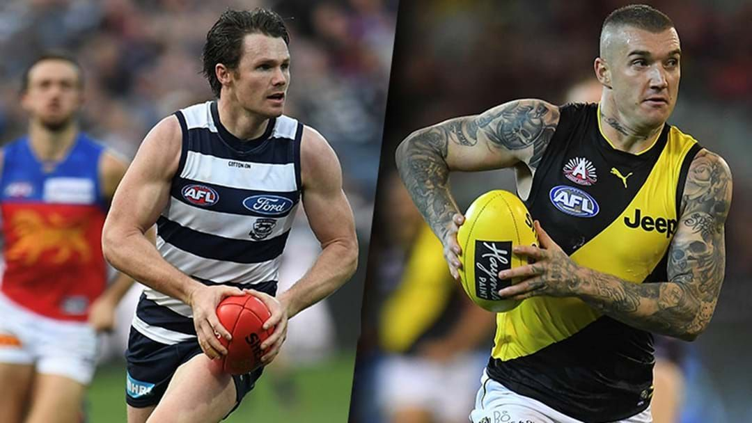 Article heading image for Champion Data Has Named Their Top 10 Players In The AFL