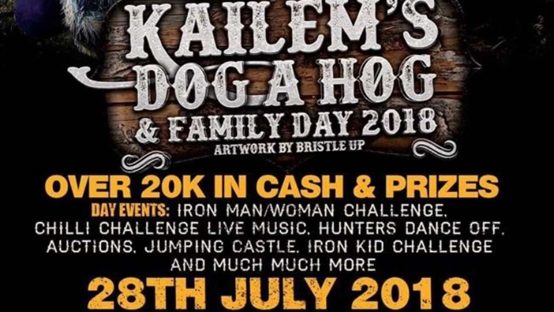 Article heading image for Kailem's Dog A Hog & Family Day