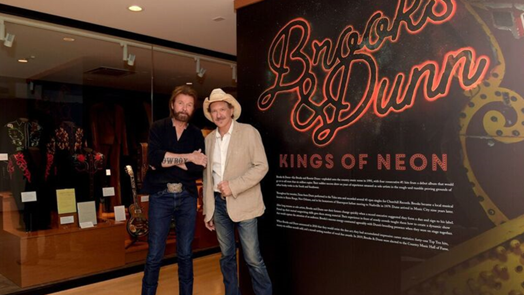 Article heading image for Brooks & Dunn Continue Milestone Year Country Music Hall of Fame and Museum Opens Ahead of Induction