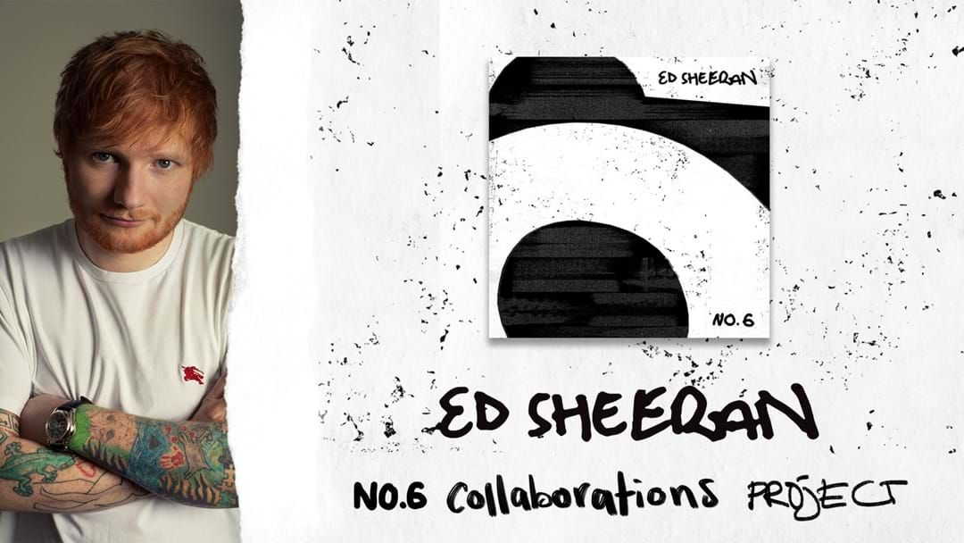 Article heading image for Ed Sheeran Drops No. 6 Collaborations Project  Ft. Camila Cabello, Cardi B, Eminem, 50 Cent And MORE!