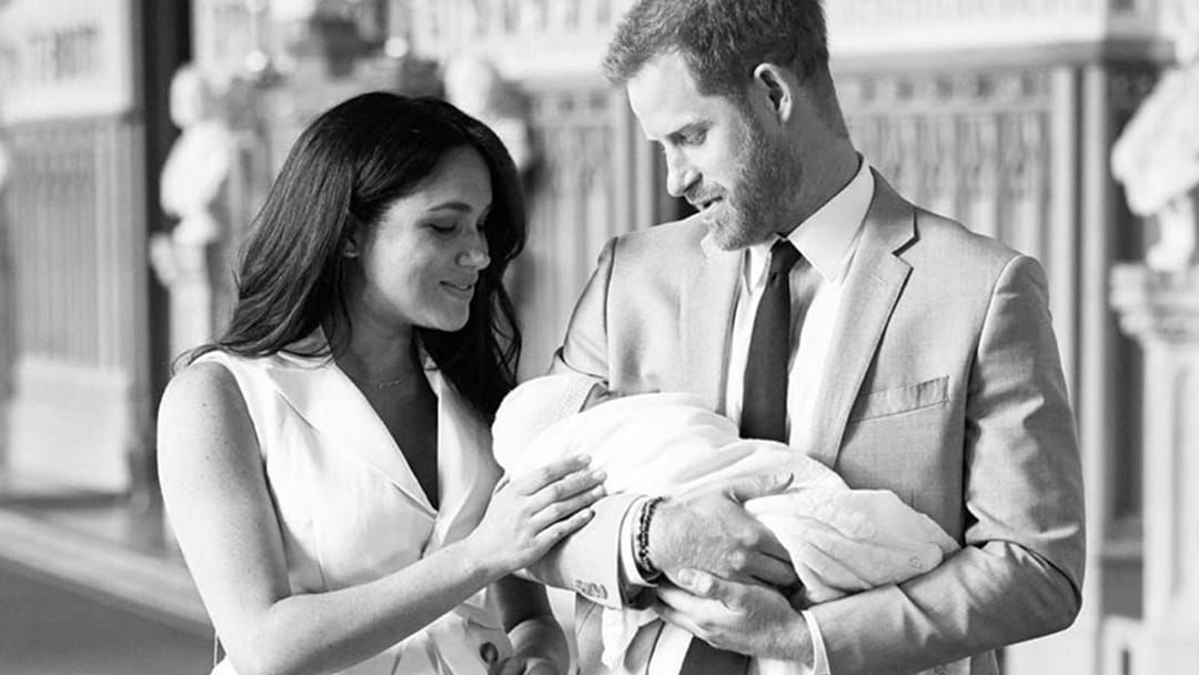 Article heading image for Prince Harry & Meghan Markle Share Adorable New Photo Of Baby Archie!