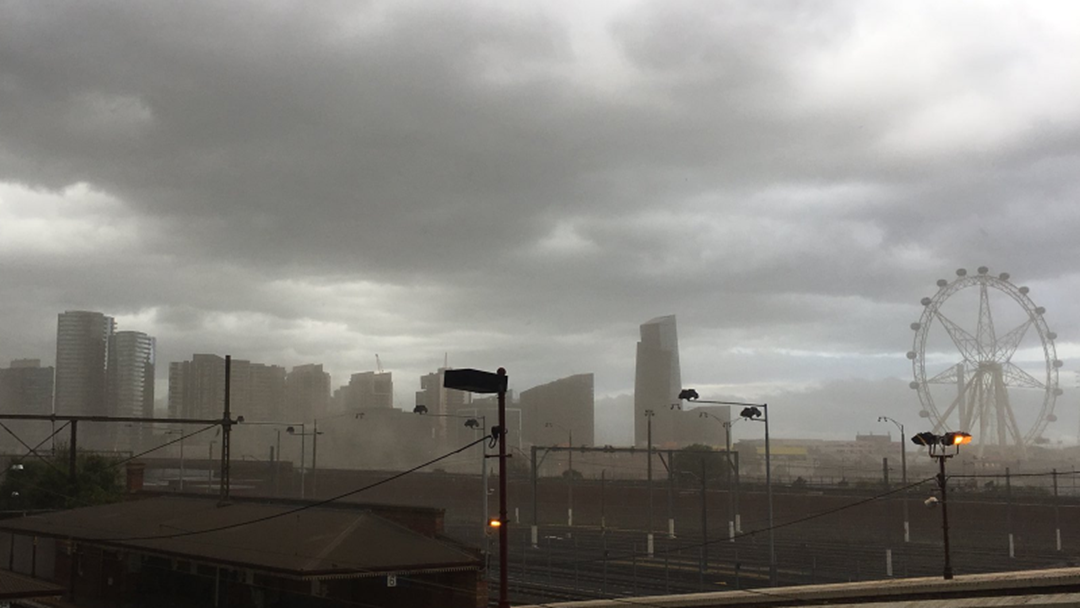 Article heading image for VIDEO: Dust Storm Hits Melbourne