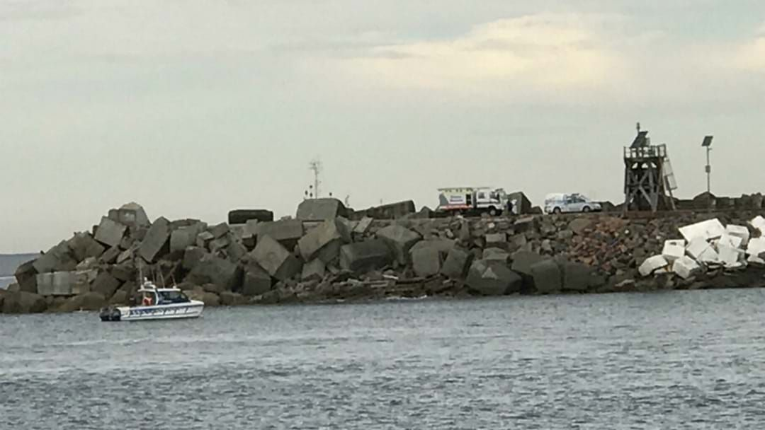 Article heading image for Police Yet To Identify Man's Body Found At Nobbys Breakwall