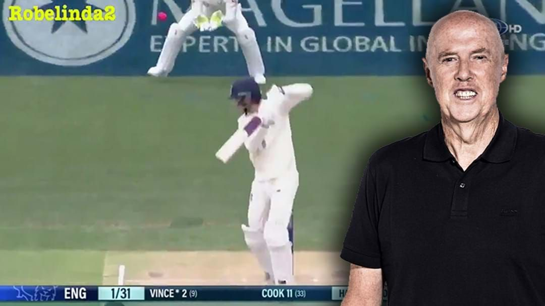 Article heading image for Robelinda2 Has Synched Up Kerry O'Keeffe Predicting A Wicket On Triple M With The Vision