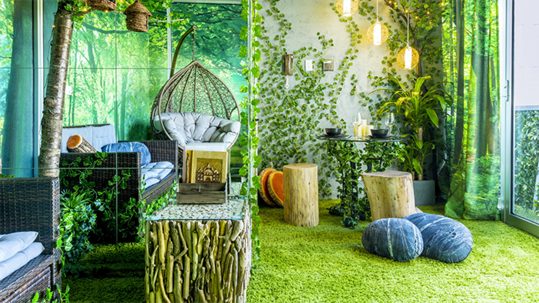 Article heading image for This Melbourne Airbnb Is Pretty Much A Forest & We Want To Move In