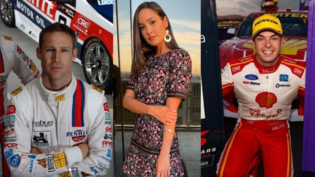 Article heading image for Former Big Brother Star Gave Supercar Driver A Serving At Townsville 400