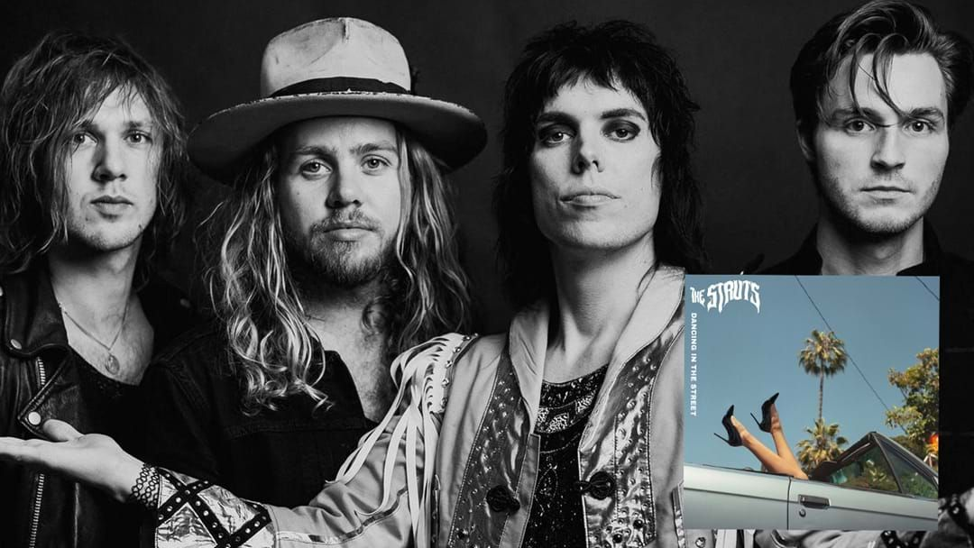 Article heading image for The Struts Have Us Dancing In The Street With Their New Video