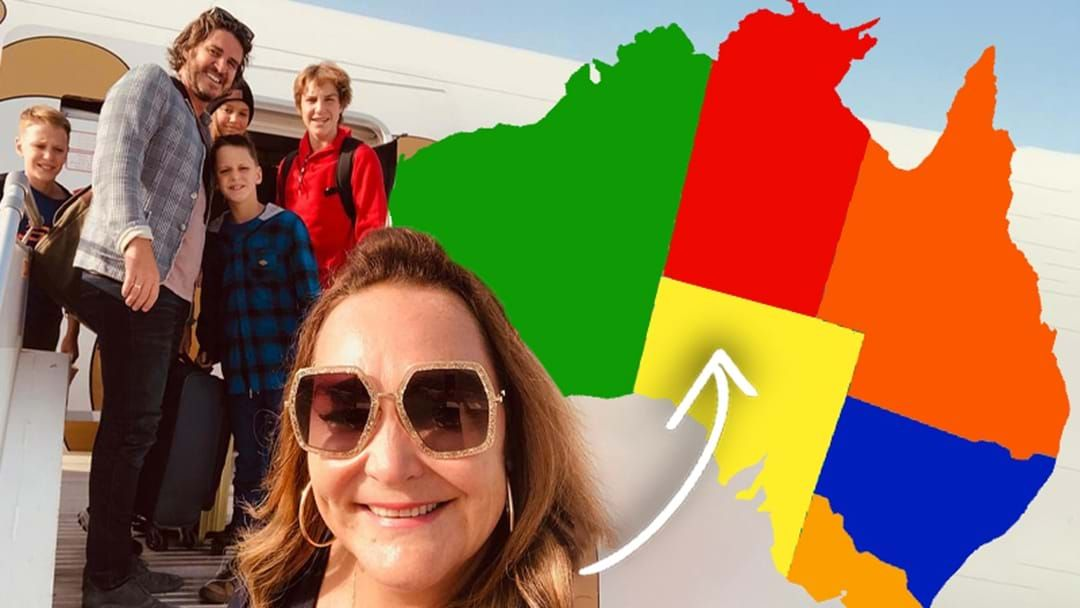 Article heading image for Kate Langbroek Reveals She Is Moving Back To Australia With Her Family!