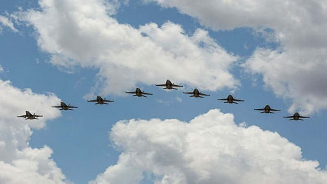 Article heading image for  It's A Bird, It's A Plane, It's a RAAF Hornet On The Strand Tomorrow