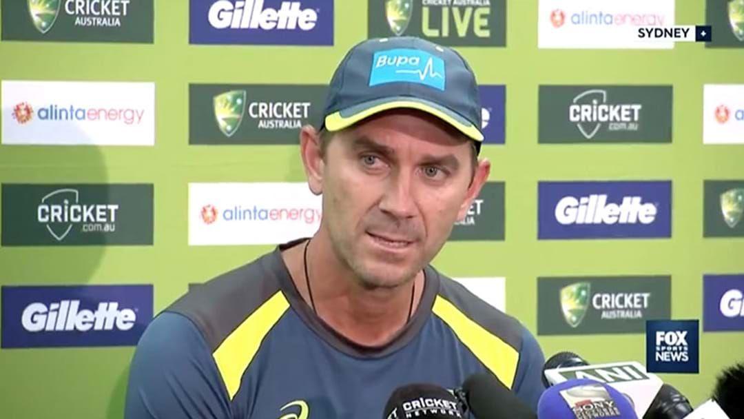 Article heading image for Cricket Australia Make Coach Justin Langer Go Part-Time