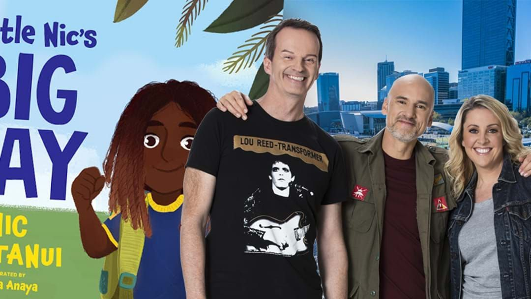 Article heading image for RECAP: Move Over #NicNat, Clairsy, Matt And Kymba Have A Go At A Bedtime Book