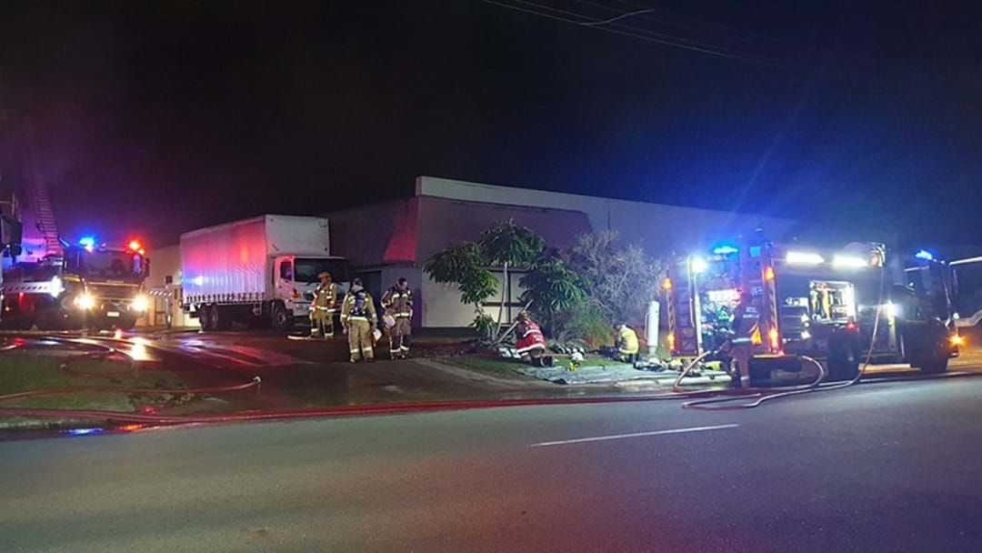 Article heading image for Four Factories Damaged By Fire In Burleigh Heads Industrial Estate